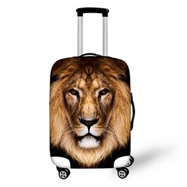 3D Animals Pattern Cool Lion Waterproof Anti-Scratch Travel Luggage Cover