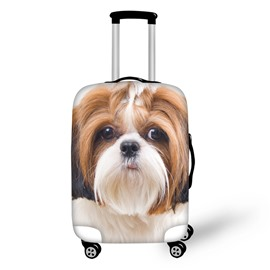 3D Animals Puppy Dog Pattern Waterproof Anti-Scratch Travel Luggage Cover