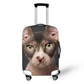 3D Canadian Hairless Pattern Anti-Scratch Travel Luggage Cover Suitcase