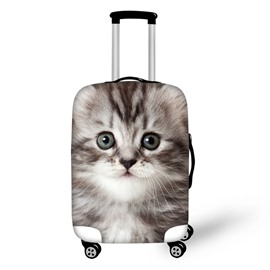 3D Animals Kitty Pattern Waterproof Anti-Scratch Travel Luggage Cover