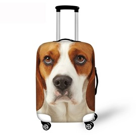 3D Animals Dog Pattern Waterproof Suitcase Protector for 19 20 21