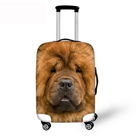 3D Pattern Sleepy Dog Waterproof Suitcase Protector 19 20 21