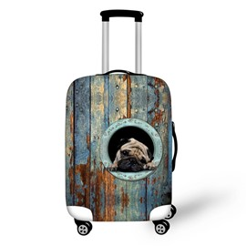 3D Boring Dog Animals Pattern Waterproof Suitcase Protector for 19 20 21