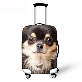 3D Pattern Adorable Dog Waterproof Suitcase Protector 19 20 21
