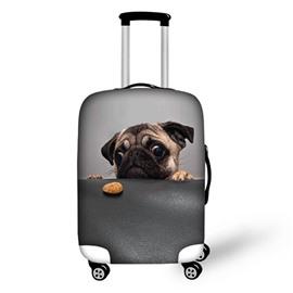 3D Pattern Boring Dog Waterproof Suitcase Protector 19 20 21
