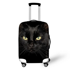 3D Black Cat Pattern Waterproof Suitcase Protector 19 20 21
