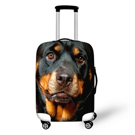 3D Printing Dog Spandex Travel Dust proof Luggage Cover