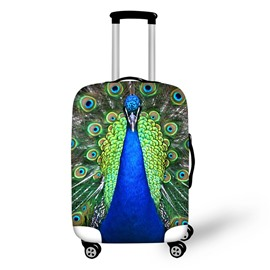 Peacock 3D Pattern Travel Luggage Cover Suitcase Protector 19 20 21