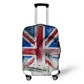 British Flags 3D Pattern Waterproof Suitcase Protector 19 20 21