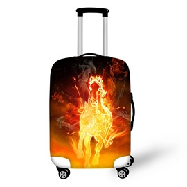 Fire Horse Running Travel Luggage Cover Suitcase Protector 19 20 21