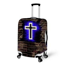 3D Cross Pattern Waterproof Suitcase Protector 19 20 21