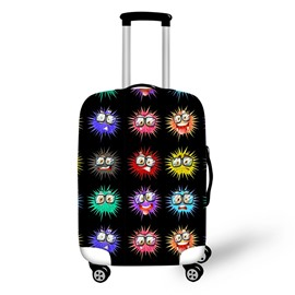 Amazing Color Elf 3D Pattern Travel Luggage Suitcase Spandex Cover