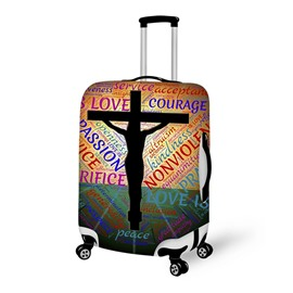 3D Christian Pattern Waterproof Suitcase Protector 19 20 21