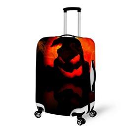 Halloween Red Monster Waterproof Suitcase Protector for 19 20 21