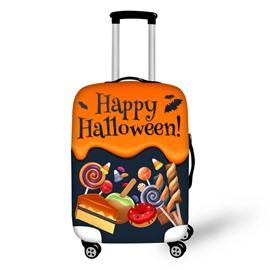 Happy Halloween Waterproof Suitcase Protector for 19 20 21