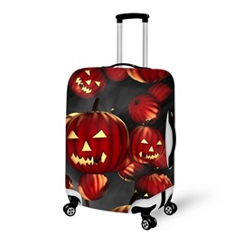 Halloween Pumpkins Waterproof Suitcase Protector for 19 20 21