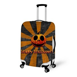Halloween Funny Pumpkin Waterproof Suitcase Protector for 19 20 21