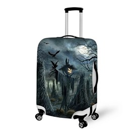 Halloween Scarecrow Pumpkin Waterproof Suitcase Protector for 19 20 21