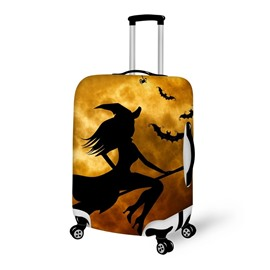 Halloween Witch Night Waterproof Suitcase Protector for 19 20 21