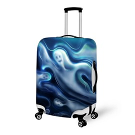 Halloween Ghost Waterproof Suitcase Protector for 19 20 21