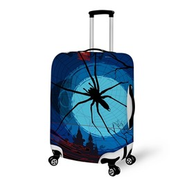 Halloween Spider World Waterproof Suitcase Protector for 19 20 21