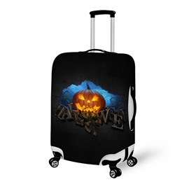 Halloween Pumpkin Night Waterproof Suitcase Protector for 19 20 21
