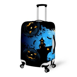 Halloween Castle Night Waterproof Suitcase Protector for 19 20 21