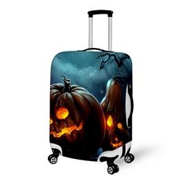 Halloween Pumpkin Light Waterproof Suitcase Protector for 19 20 21