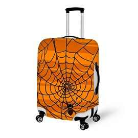 Halloween Spider on the Wet Waterproof Suitcase Protector for 19 20 21