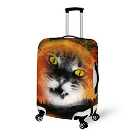 Horror Cat Waterproof Suitcase Protector for 19 20 21