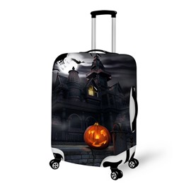 Halloween Sacred Night Castle Waterproof Suitcase Protector for 19 20 21