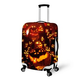 Halloween Pumpkin Lights Waterproof Suitcase Protector for 19 20 21