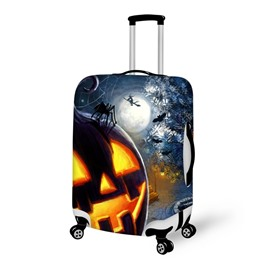 Halloween Night Pattern Waterproof Suitcase Protector for 19 20 21