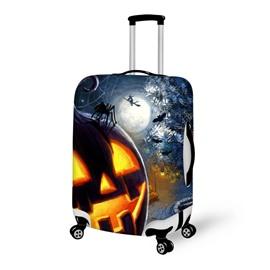 Halloween Night Pattern Waterproof Suitcase Protector for 19 20 21