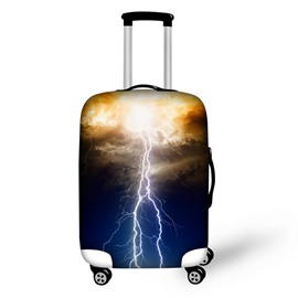 Lightning Blue Sky Waterproof Suitcase Protector for 19 20 21