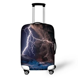 Mountain Lightning Cloud Waterproof Suitcase Protector for 19 20 21