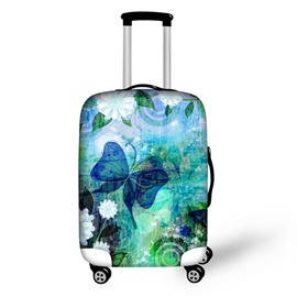 Butterfly Beauty Scenery Pattern Waterproof Suitcase Protector for 19 20 21