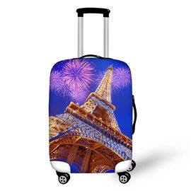 Eiffel Tower Firework Waterproof Suitcase Protector for 19 20 21