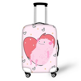 Pink Monster Waterproof Luggage Suitcase Protector for 19 20 21