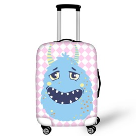 Adorable Monster Waterproof Luggage Suitcase Protector for 19 20 21