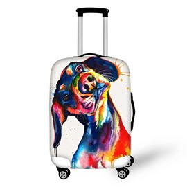 3D Big Oil-Painting Dog Painted Luggage Protect Cover