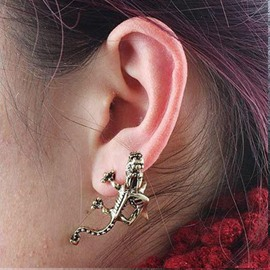 Dragon Bite Ear Clip Alloy Earring