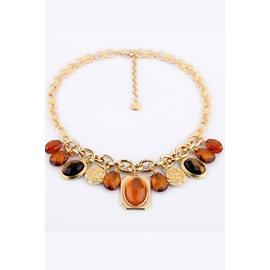 Women's Fashion Waterdrop Alloy Choker Necklace