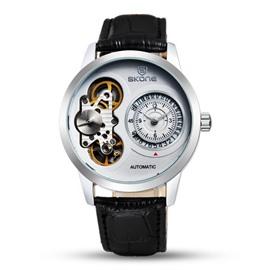 Mens Vogue Skeleton Automatic Self-Winding Waterproof Mechanical Watch