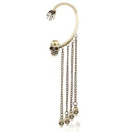 Halloween Style Skull Design Earings