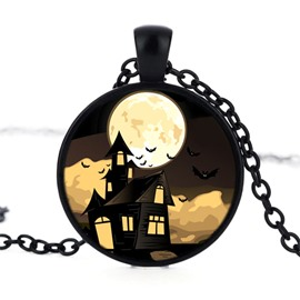 Alloy Popular Jewelry Night Pattern Sexy Fashion Halloween Necklace