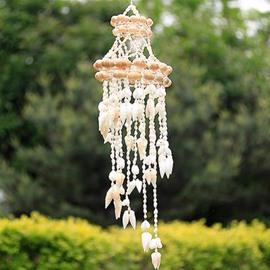 Fantastic Pretty Natural Conch Shells Wind Chime