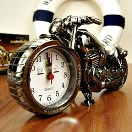 Creative Gift Motorcycle Model Retro Alarm Clock
