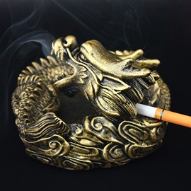 Dark Legends Fire Smoke from Dragon Mouth Ashtray