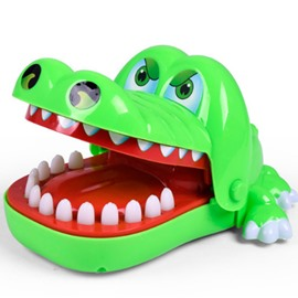 Bulldog Shark Crocodile Dentist Game for kids